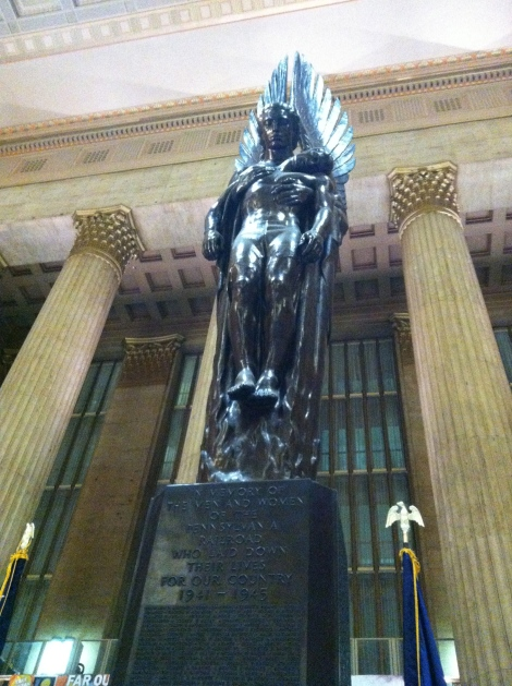 Statue at 3th Street Station