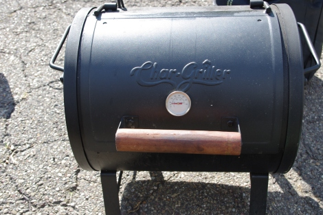 Charcoal Grill - For camping days in state parks, and rest area stops on long driving days.