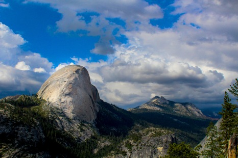 Half Dome and Little Yosemite Valley
