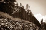 The Devils Postpile