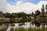 Arriving at Evolution Lake