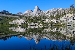 Dollar Lake Reflecting Fin Dome